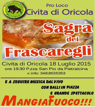 Sagra dei Frascaregli