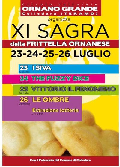 11^ Sagra della Frittella Ornanese