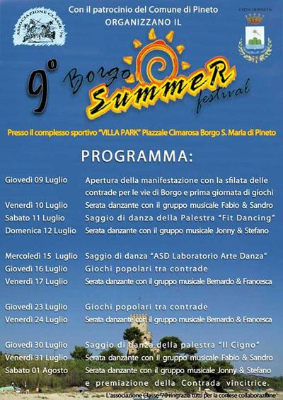 9^ Borgo Summer Festival