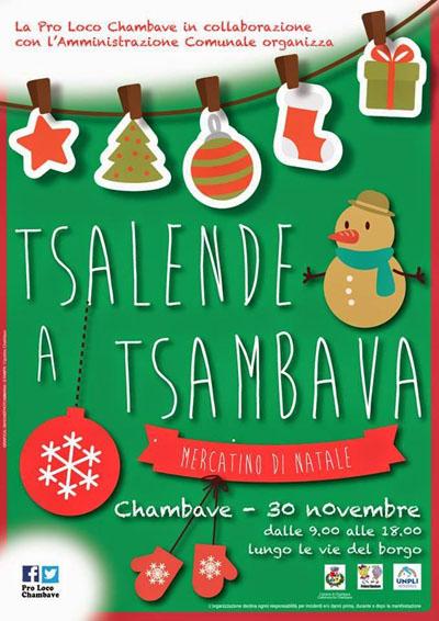 Mercatini di Natale a Chambave (AO)