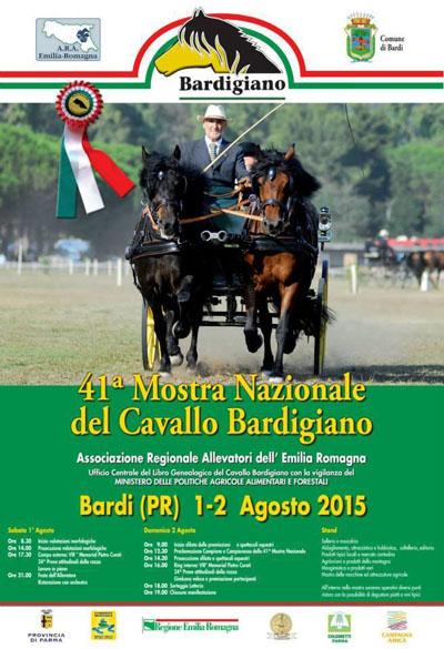 41^ Mostra Nazionale del Cavallo Bardigiano