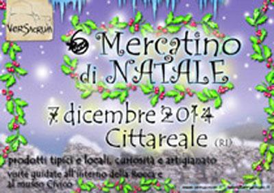 Mercatini di Natale a Cittareale (RI)