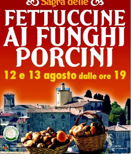 Sagra delle Fettuccine ai Funghi Porcini