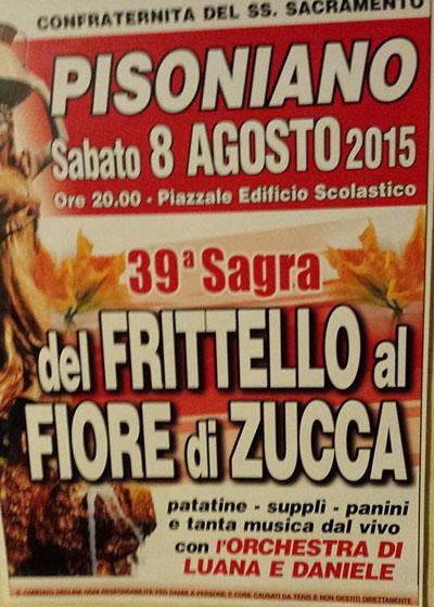 39^ Sagra del Frittello al Fiore di Zucca
