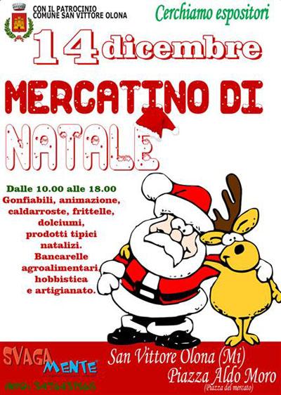 Mercatini di Natale a San Vittore Olona (MI)