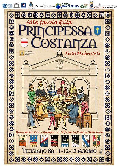 Alla Tavola della Principessa Costanza
