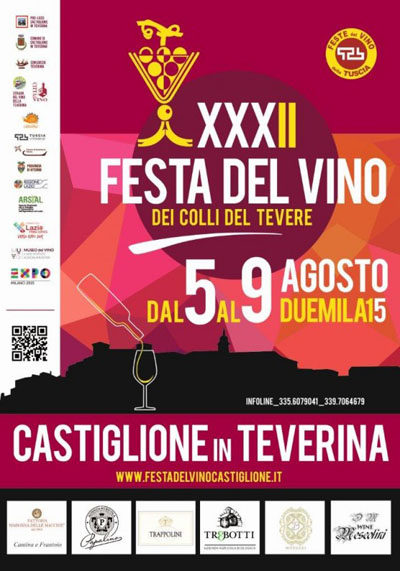 32^ Festa del Vino e dei Colli del Tevere