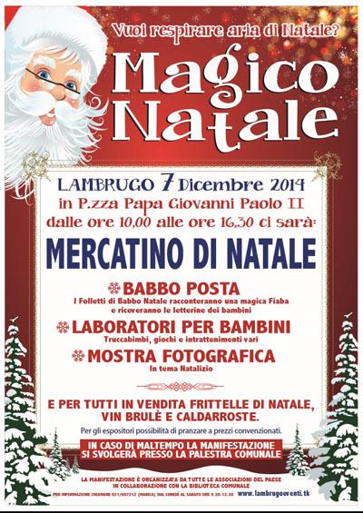 Magico Natale a Lambrugo (CO)