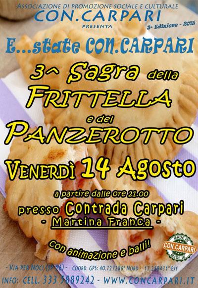 3^ Sagra della Frittella e del Panzerotto