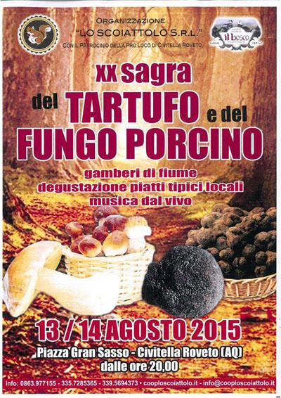 20^ Sagra del Tartufo e del Fungo Porcino