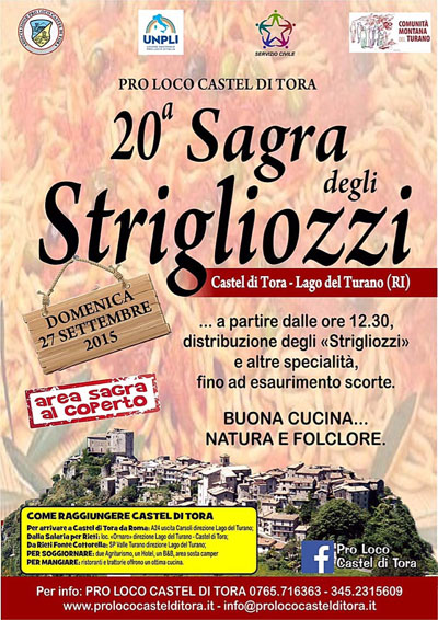 20^ Sagra degli Strigliozzi