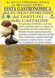 Festa Gastronomica del Fungo Porcino, del Tartufo e delle Castagne