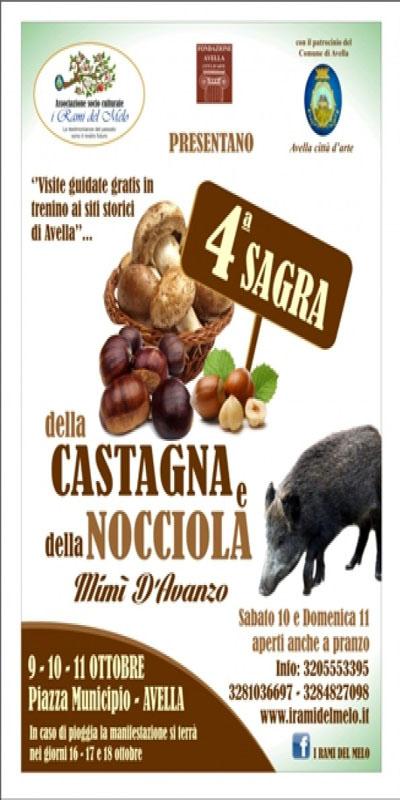 4^ Sagra della Castagna e della Nocciola ad Avella