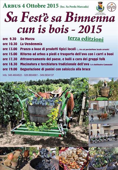 3^ Sa Fest'è sa Binnenna cun is bois