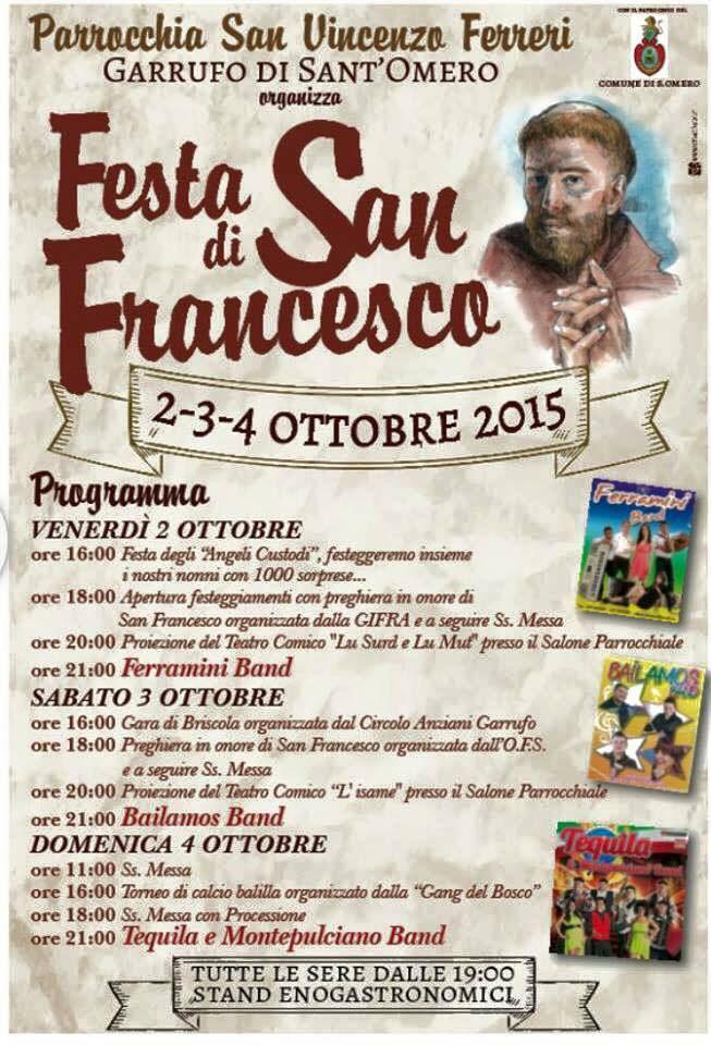 Festa di San Francesco