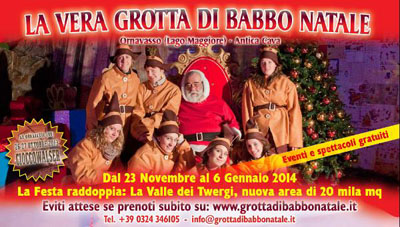La Vera Grotta di Babbo Natale