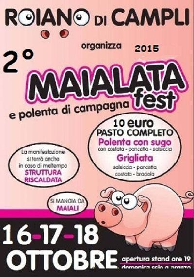 2^ Maialata Fest e Polenta di Campagna