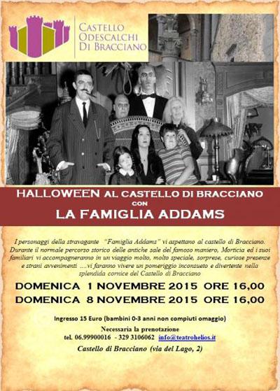 Halloween al Castello di Bracciano con la Famiglia Addams
