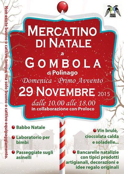 Mercatino di Natale a Gombola