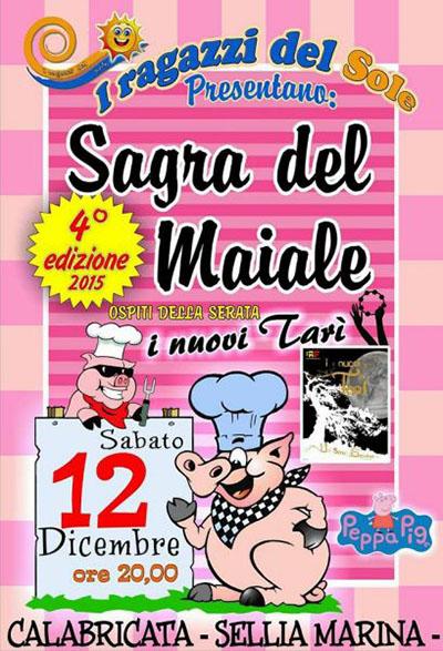 Sagra del maiale a Sellia Marina