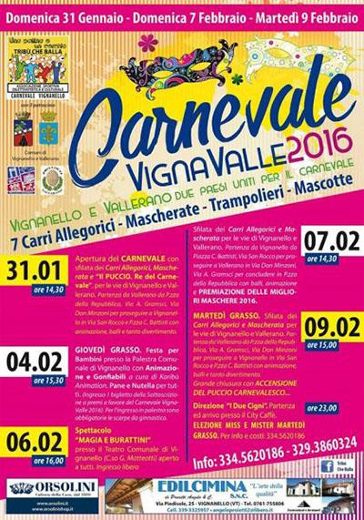 VignaValle - il Carnevale si fa in due a Vignanello e Vallerano