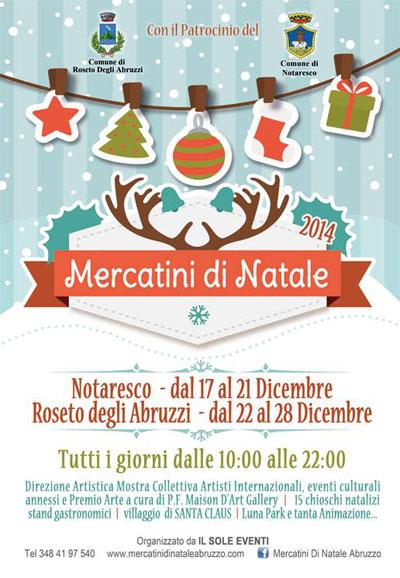 Mercatini di Natale a Notaresco
