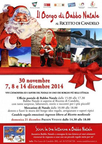 Il Borgo di Babbo Natale a Candelo