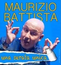 Maurizio Battista in 'Una serata unica'