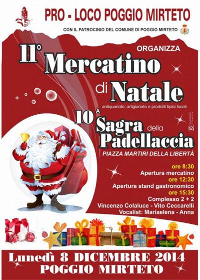 Sagra della Padellaccia e Mercatini di Natale