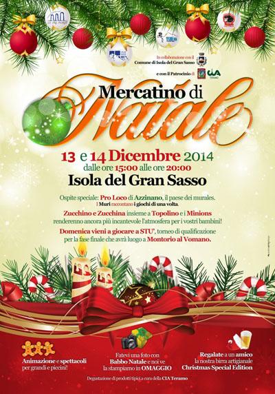 Mercatini di Natale ad Isola del Gran Sasso d'Italia
