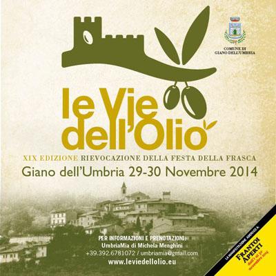 Le Vie dell'Olio a Giano Dell'Umbria
