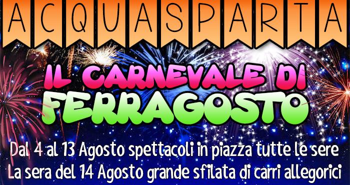 Acquasparta - Carnevale di Ferragosto
