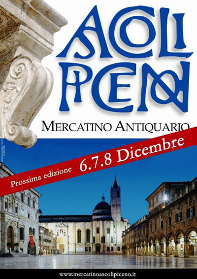 Mercatino Antiquario ad Ascoli Piceno