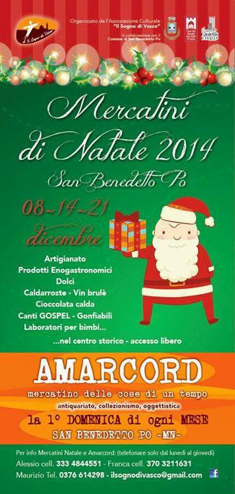 Mercatini di Natale a San Benedetto Po