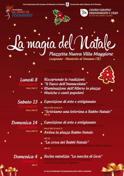 La Magia del Natale a Montorio al Vomano