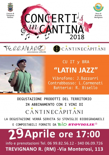 Concerti in Cantina 'Latin Jazz'