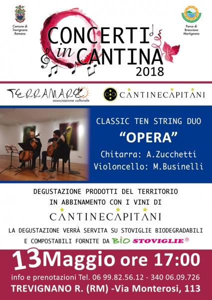 Concerti in Cantina: Opera