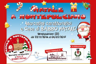 Il Villaggio di Natale a Montepulciano