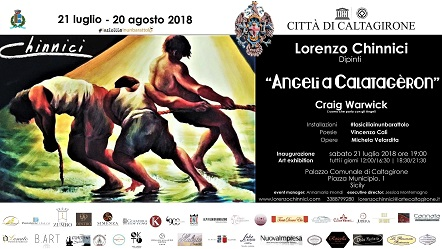 Lorenzo Chinnici - Angeli a Calatagèron - Caltagirone