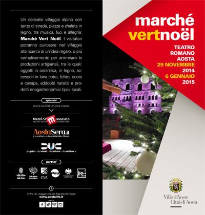 Marchè Vert Noel ad Aosta