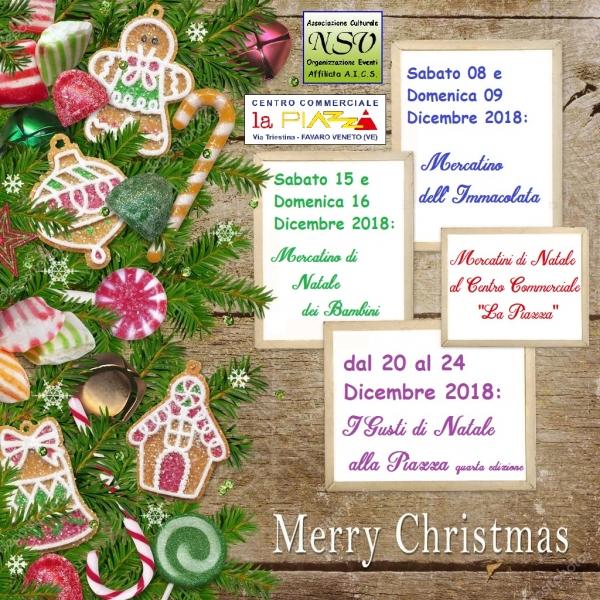 Mercatini di Natale al Centro Commerciale La Piazza