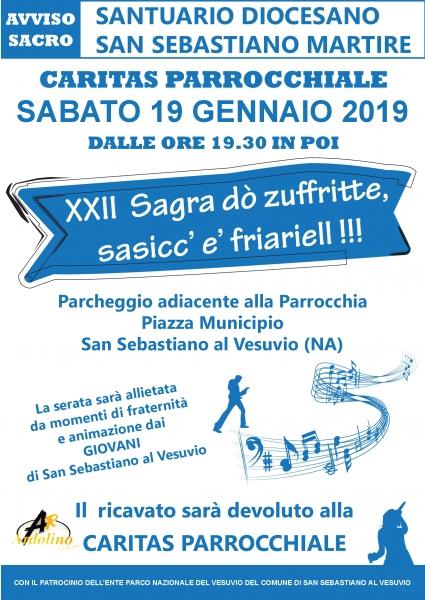 XXII SAGRA DO' ZUFFRITTE, SASICC' E FRIARIELL!
