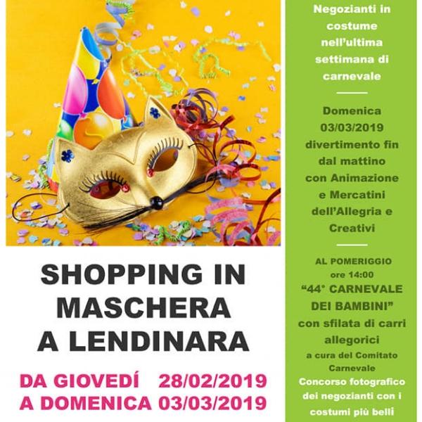Shopping in Maschera a Lendinara