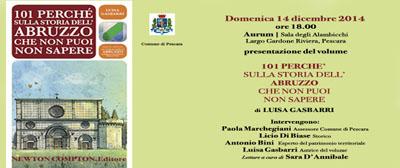 101 Perchè sulla Storia dell'Abruzzo che non puoi non Sapere