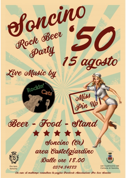 Soncino '50 Rock Beer Party