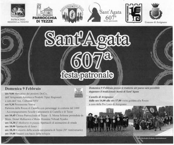 Mercatino della 607^ Festa di Sant'Agata