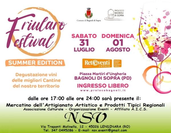 Friularo Festival - Il Mercatino