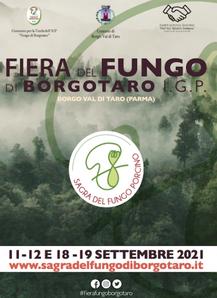 A Borgotaro c'è una star! Il Fungo Porcino IGP 11/19 settembre