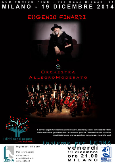 Orchestra Allegromoderato con Eugenio Finardi