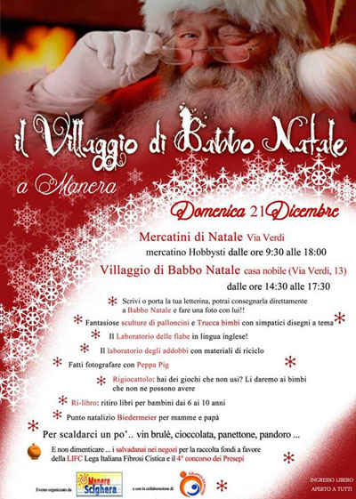 Il Villaggio di Babbo Natale a Manera